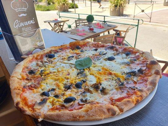 Pizza Reale Saint Tropez