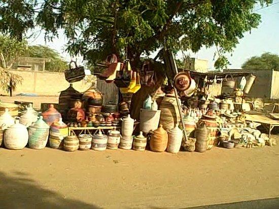 Roadside vendor Senegal