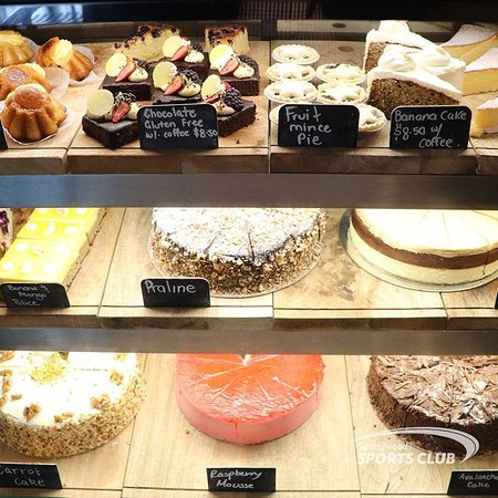 Complement your hot drink of choice with one of our delicious desserts!