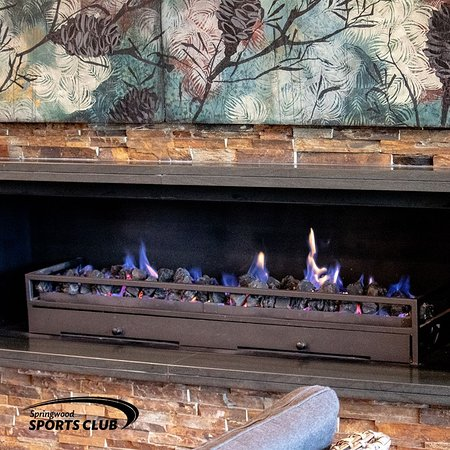 Come in out of the cold! The coffee is hot and the fire is cosy!