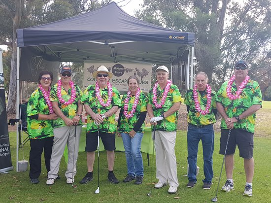 Country Escape Tours: Loved being a part of the Westpac Helicopter Charity Golf Day held at #mudgeegolfclub