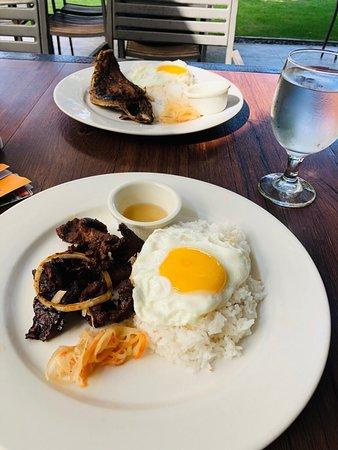 Dinner and breakfast