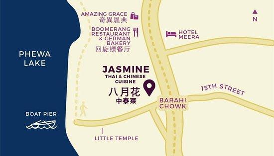 Jasmine Thai & Chinese Cuisine: Find Our Location