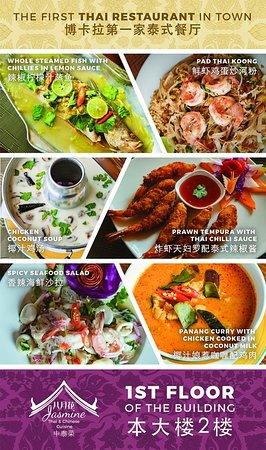 Jasmine Thai & Chinese Cuisine: best thai dishes