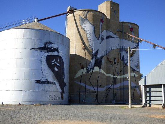 Tungamah, Australia: Silo Art