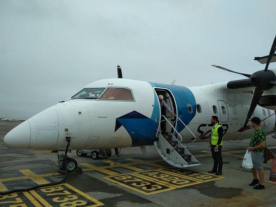 SATA International: Our flight