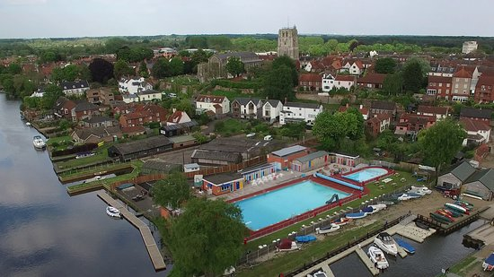 Beccles, UK: seagull's eye view!