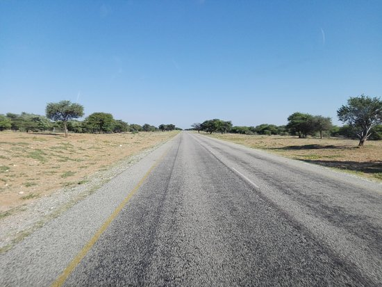 Trans-Kalahari Highway near Kang