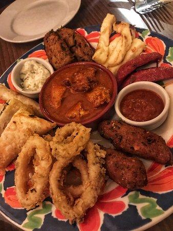 Konak Meze Turkish Restaurant: Hot Sharing Platter