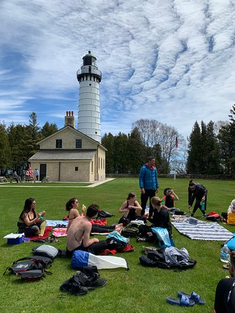 Picnic at the lighthouse!