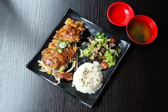 Roadster Cafe Marylebone: Chicken Teriyaki Don