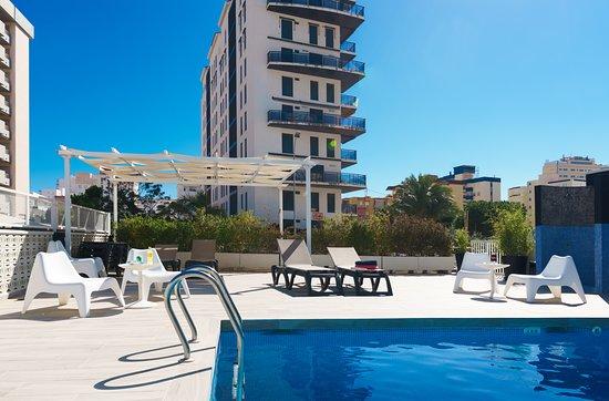 Hotel Albatros, hoteles en Oliva