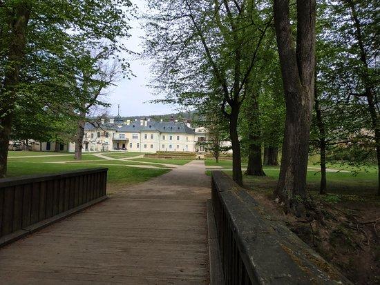 The castle garden and park