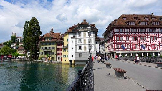 Lucerna, Suíça: Район Старого города
