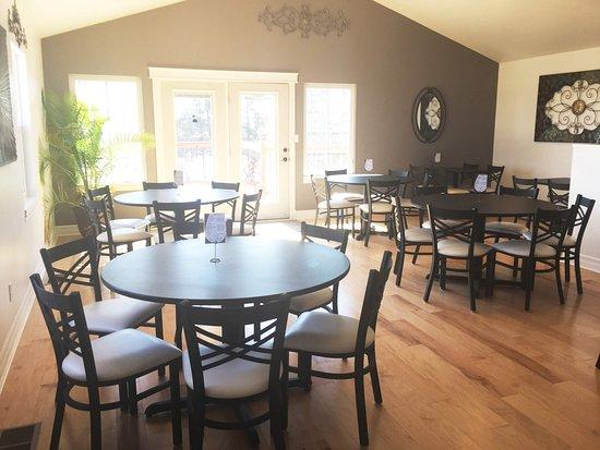 Main indoor dining room