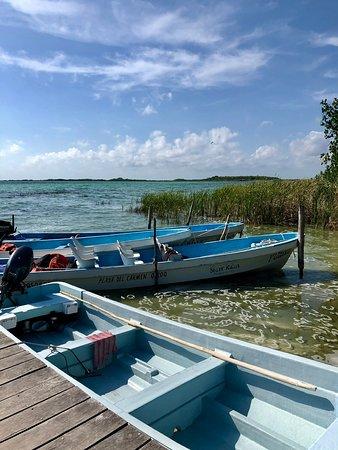 Sian Ka'an lagoon
