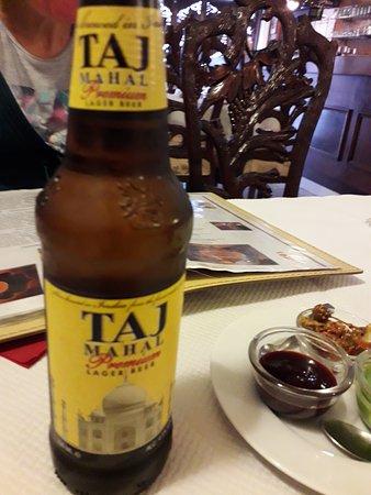 Somain, فرنسا: bière indienne