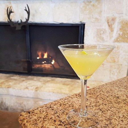 La Hacienda Scenic Loop: apple cider martini