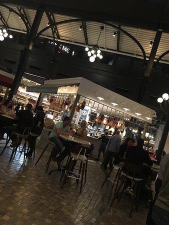 The Eataly food hall