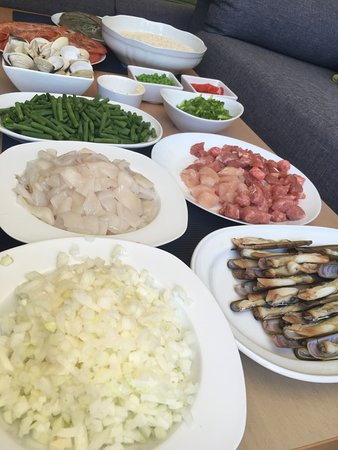 Preparing the ingrediants