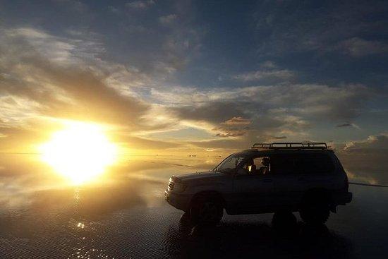 Salar de Uyuniのサンライズ
