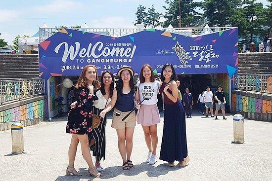 Tour de dia romântico para Gangneung...
