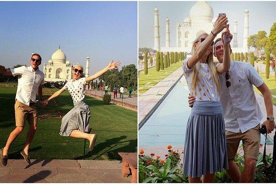 Fra Delhi: Privat Taj Mahal Tour med...