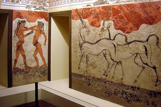 Tour storico di Santorini (Akrotiri)