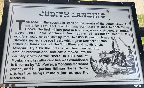 Big Sandy, MT: Judith Landing