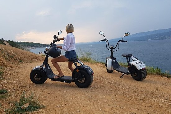 Huur een E-scooter Chopper 2-stoel ...