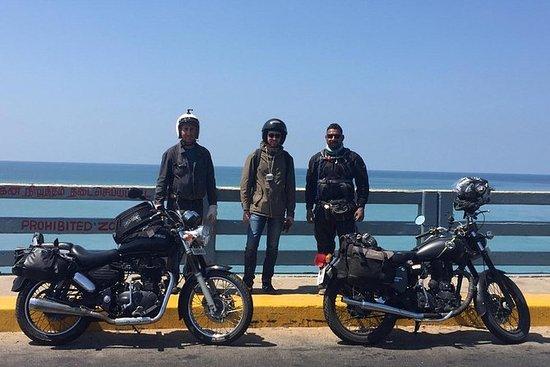 8 dager motorsykkel tur fra Chennai...