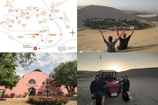 Paracasから:Nasca Lines、Tacama、Buggy