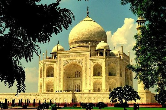 Samma dag Taj Mahal Tour med bil