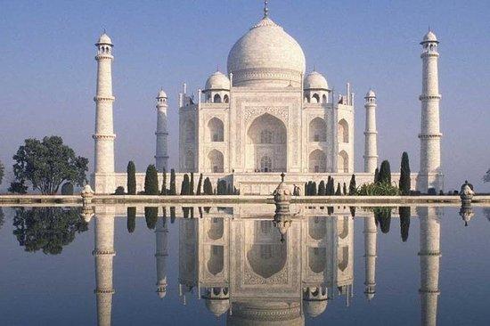 Taj Mahal Day Tour med Super luksusbil