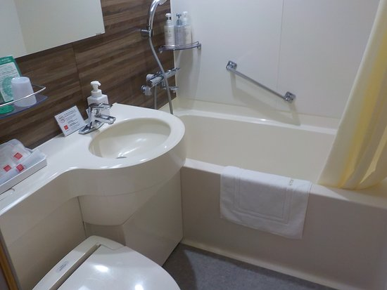 Kagoshima Tokyu REI Hotel: Bathroom