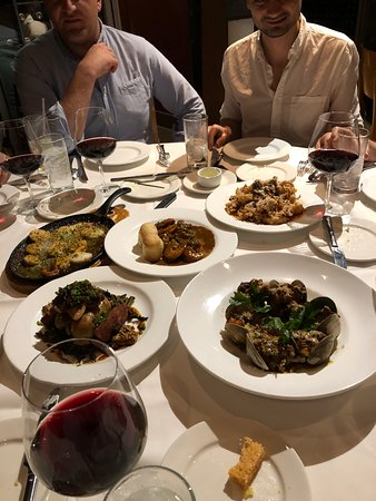 Solid food and an extensive wine list