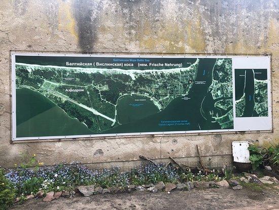 Baltiysk, Rusland: Схема Балтийской косы