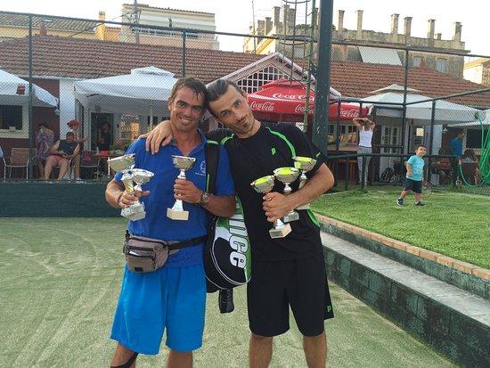 Winners of ITF CORFU INTERNATIONAL!