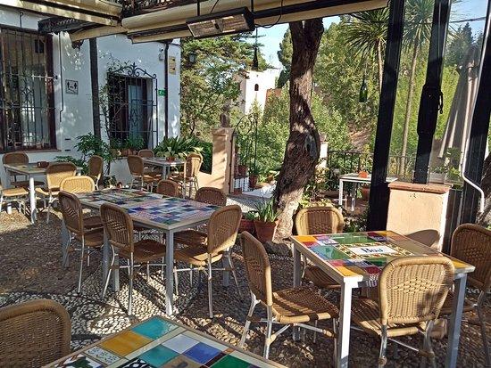 Restaurante Jardines Alberto Granada Centro Sagrario