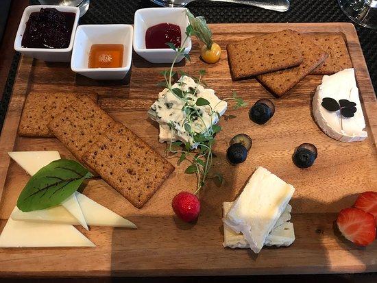 Blom Restaurant: En god og velkomponert osteplate