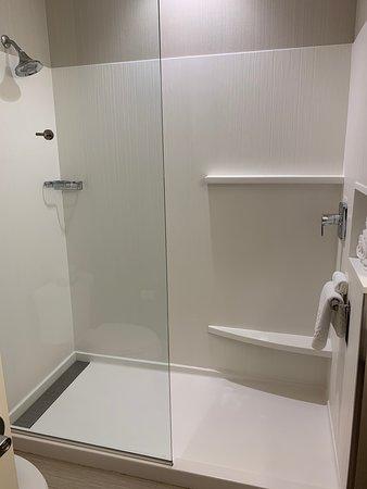 Shenandoah, TX: Shower area