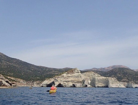 Sea Kayak Milos: Kleftico