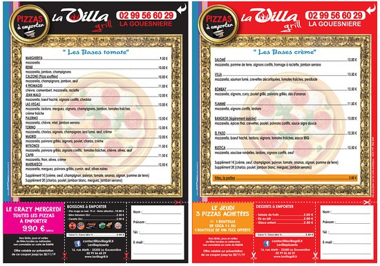 La Gouesniere, Francia: Les pizzas a emporter!!!