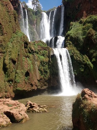 Ouzoud, Marocko: Something magical with this waterfalls