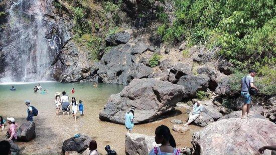 Pilok, Thailand: Chokkradin waterfall