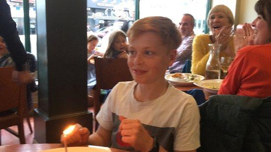 Otello Restaurant: Happy Birthday Luke