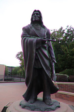 The statue of PeoPeoMoxMox