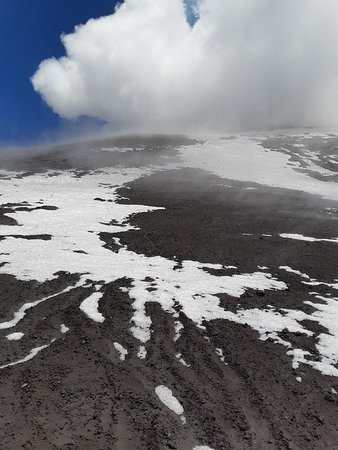 Great trip to summit of Etna