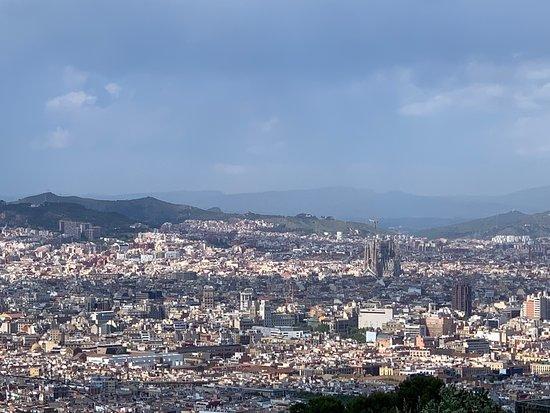 carino per vedere dall'alto Barcellona ma...