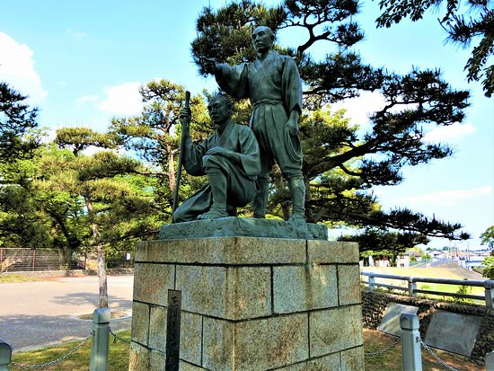 Statue of Tamagawa Brothers